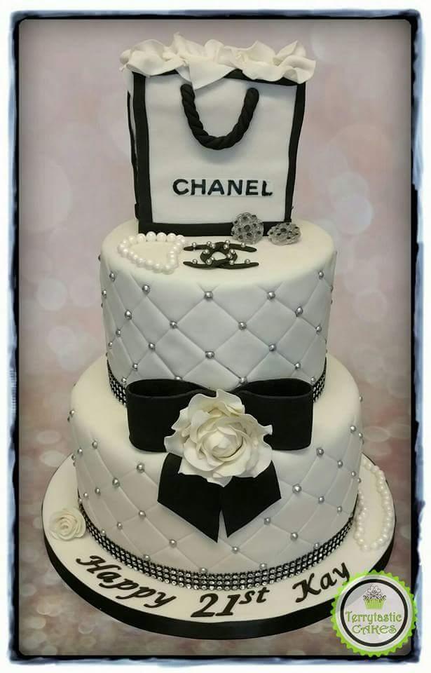 Strange Chanel Cake Terrytastic Cakes Funny Birthday Cards Online Overcheapnameinfo