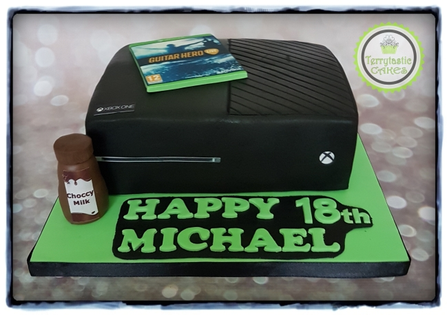 Xbox One 18th Birthday Cake